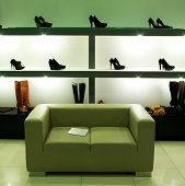 pic of department store  - In shoe shop - JPG
