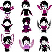 foto of emo-boy  - Nine Emo Angels - JPG