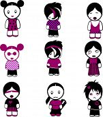 image of emo-boy  - New Nine Emo Girls - JPG