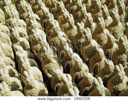 Chinese Terracotta Army Replica