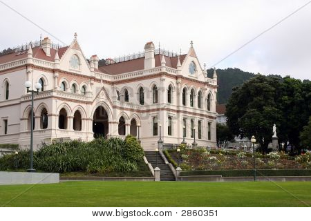Houses Of Parliment In Wellington New Zealand