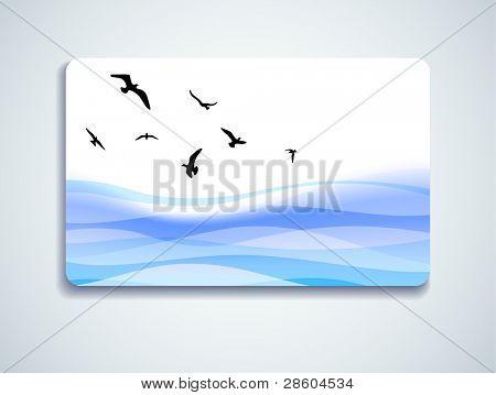 gaivotas, cartão-presente