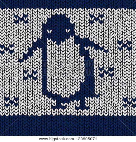 penguin, vector jumper pattern
