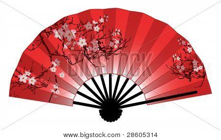Ventilador japonés