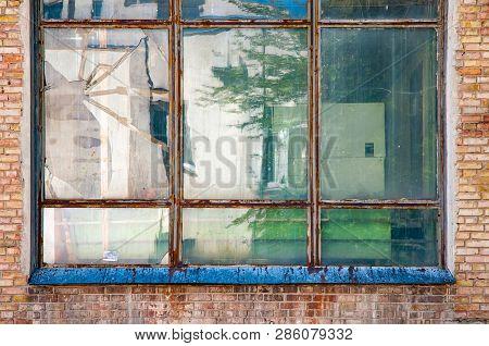 Window Of Soviet Building