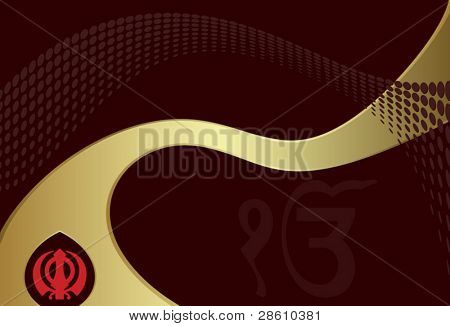 Ek Onkar, Khanda the holy motif