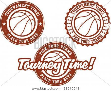 Basketball Tournament Betting Stamps