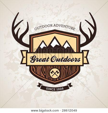 Outdoors Emblem