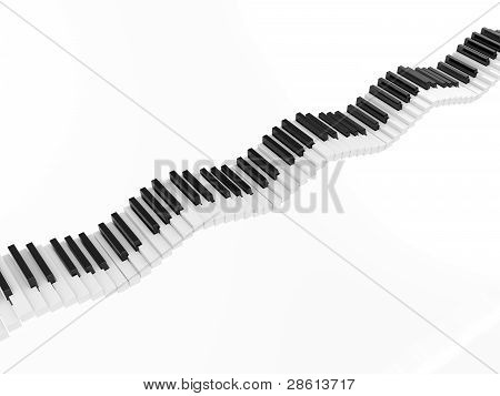 Piano wave