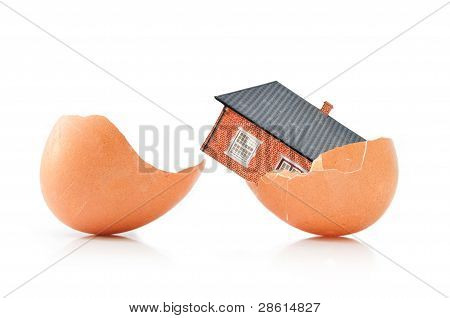 House Inside An Egg