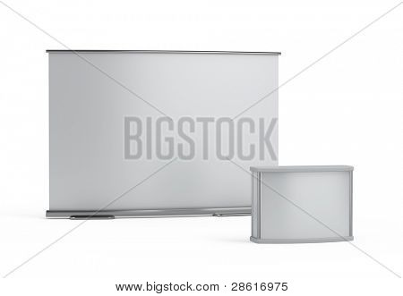 blank trade show booth template
