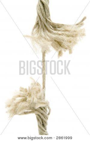 Seil zu brechen