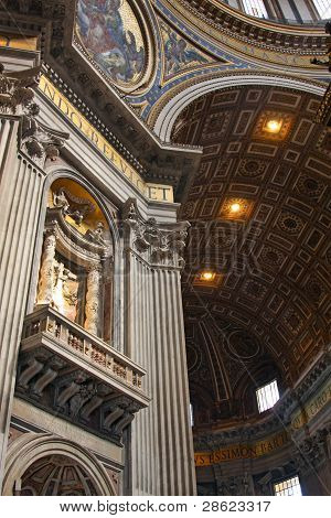 Basilica Of St. Peter, Vatican, Italy