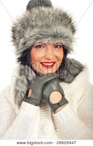 Fashionable Winter Woman