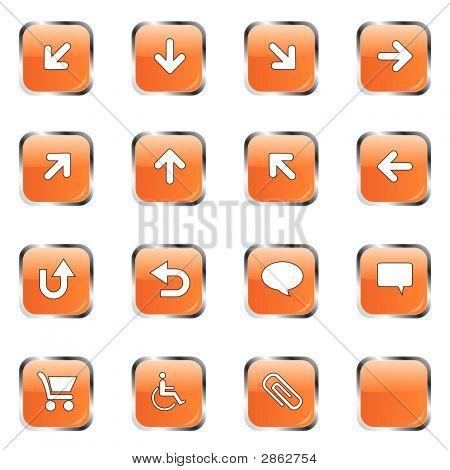 Orange Icon Collection