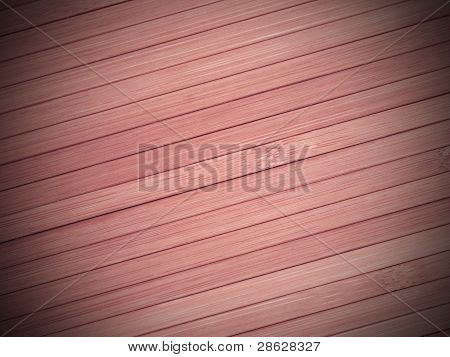 Background Made Of Diagonal Pink Bamboo Laths.