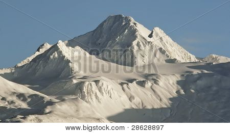Sunrise Mountains In  Alaska