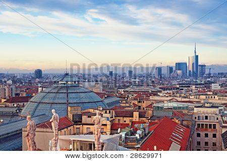 Milan Skyline