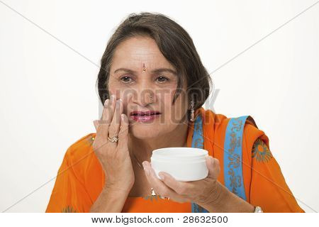 Mature Woman Skincare