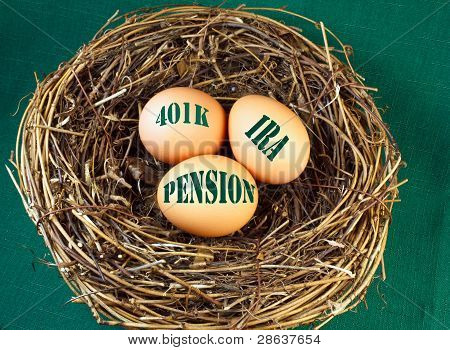 Nest Egg For Retirement