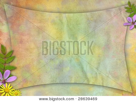 Abstract Pastel-colored Paper Background