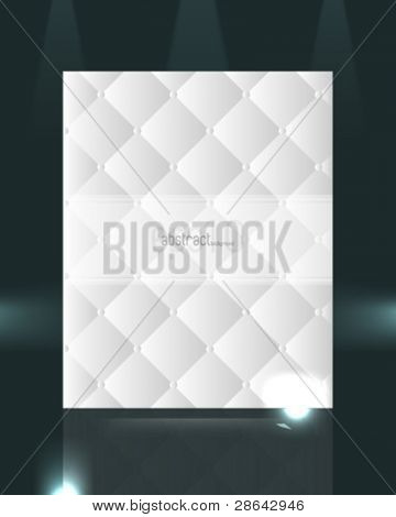 eps10 vector elegant pattern design isolated on dark background