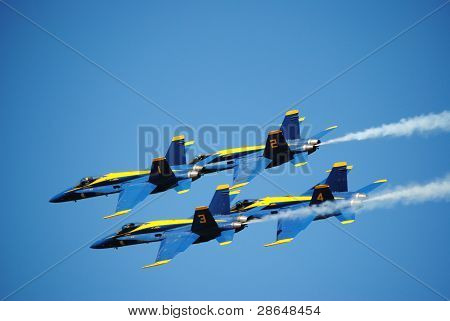 the blue angles