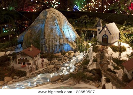 Christmas toy house