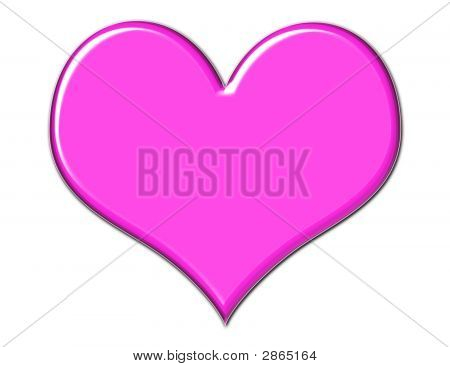 Gorgeous Pink Heart