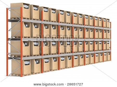 Warehouse Shelve