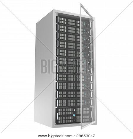 Rack de servidores