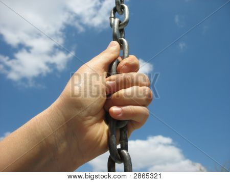 Holding A Chain