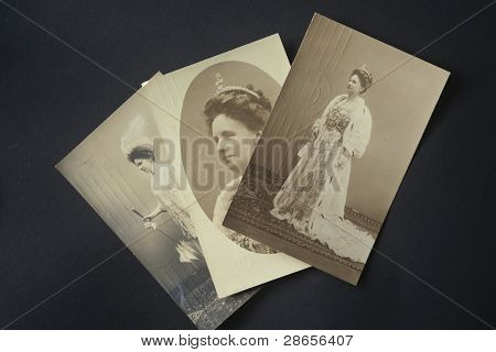 Three Postcards Of Queen Wilhelmina Of The Netherlands In 1911