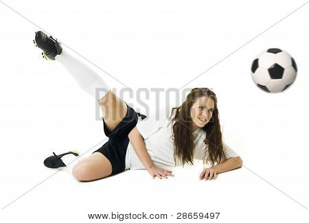 Fußball Frau