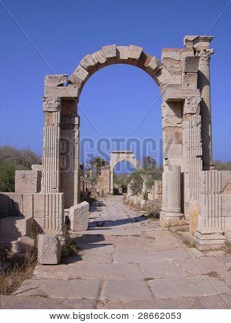 Leptis Magna Roman Ruins