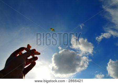 Hand And Kite