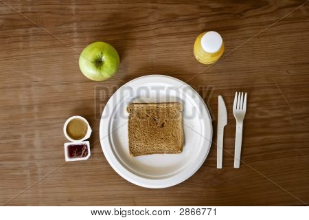 Peanutbutter And Jelly Breakfast