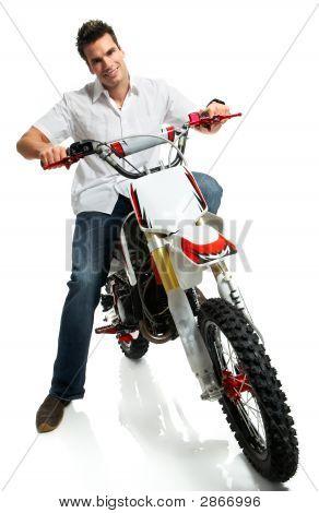 Yound Biker