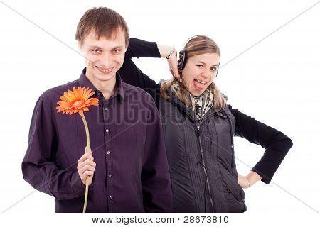 Funny Weird Couple