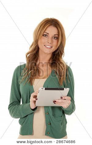 Woman Tablet