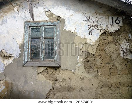 Old Window. Old Town.