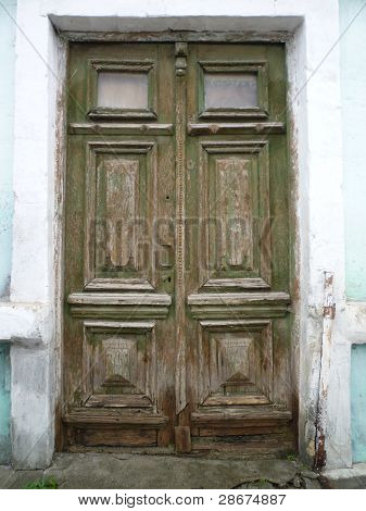 Old Doors. Old Town