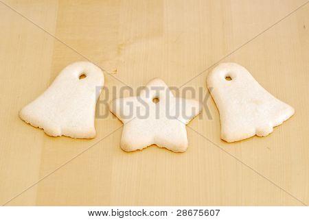 Three Fun Shaped Cookies