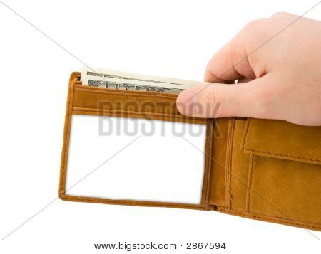 Hand And Wallet