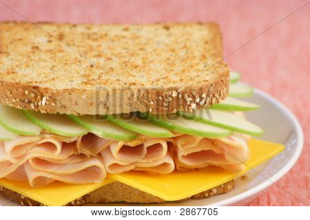 Apple Ham Sandwich