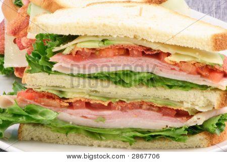 gesunde Club-sandwich