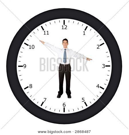 Relógio de negócios