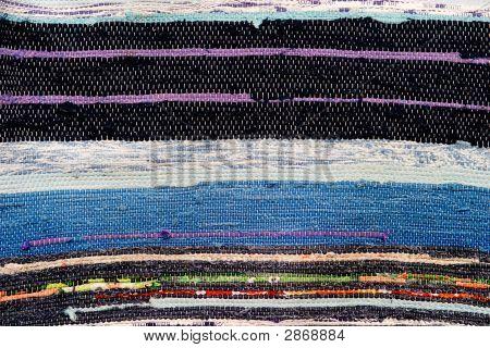 Woven Rug Texture