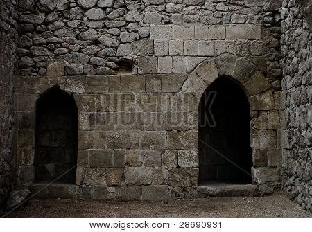 Double Stone Archways