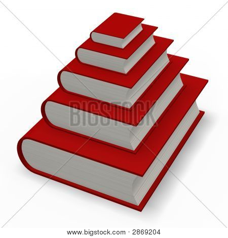Book Or Dictionary Pyramid